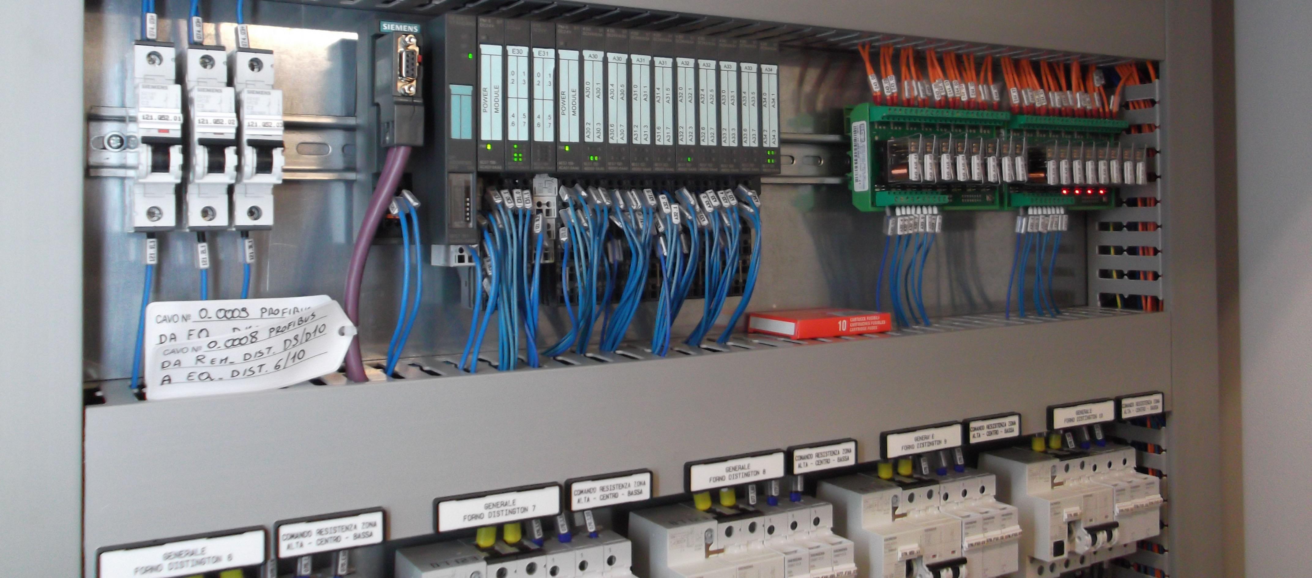 Schemi Elettrici Quadro : Elettroindustriale installazione quadri elettrici bergamo